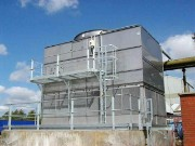Cooling Tower with Platform