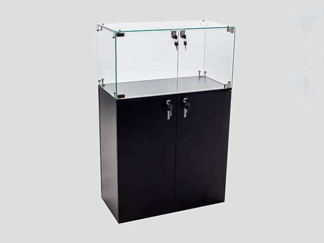 Glass Cube Cabinets