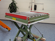 Conveyors- Gravity Roller Track