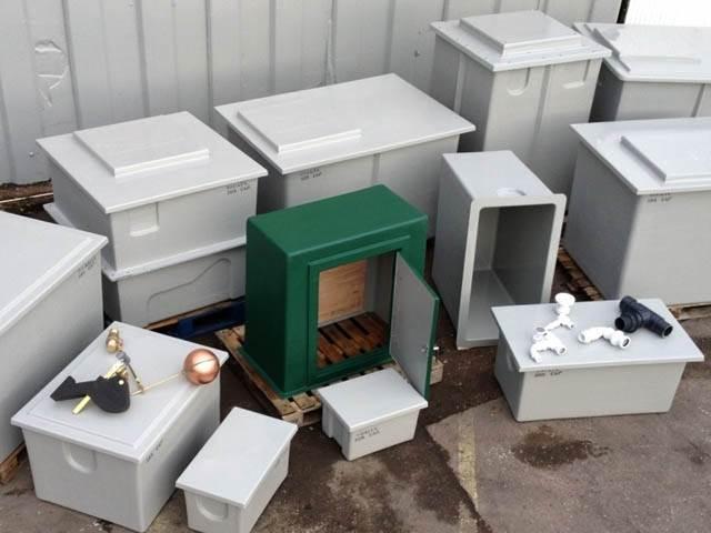 Range of Cold Water Storage Tanks