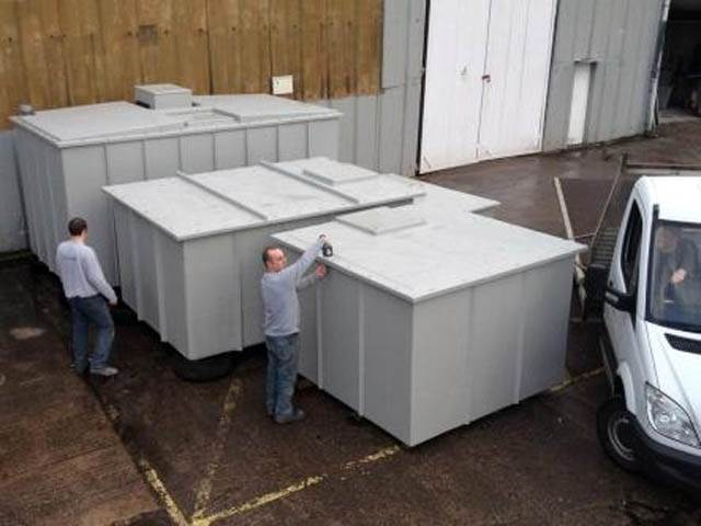 One Piece GRP Storage Tanks
