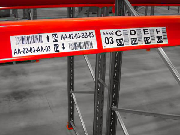 Racking Labels