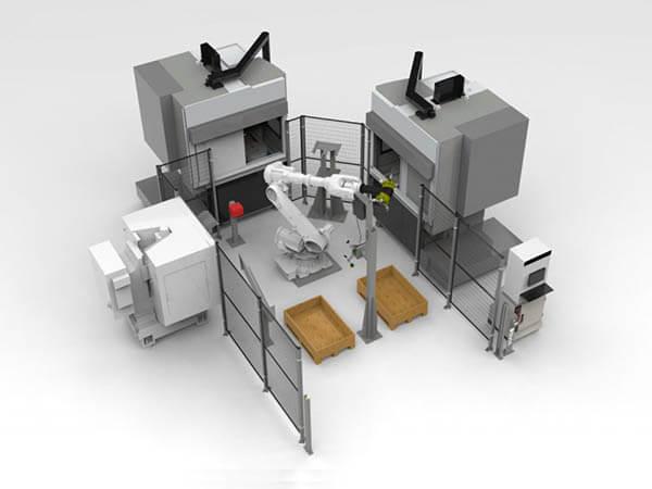 Machine Loading Automation