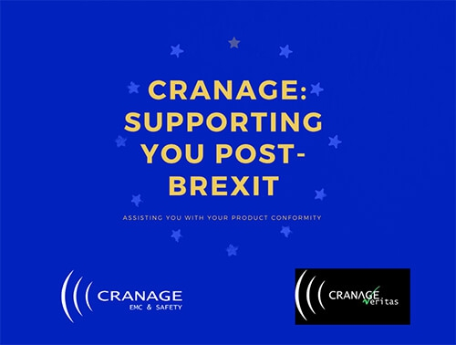 Cranage EMC & Safety: Supporting You Post-Brexit
