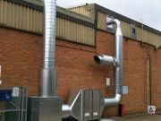 Ducted Extraction System We Installed