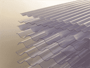 UPVC Corrugated Roofing Sheet