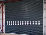 6 Rows Vision Insulated Roller Shutters