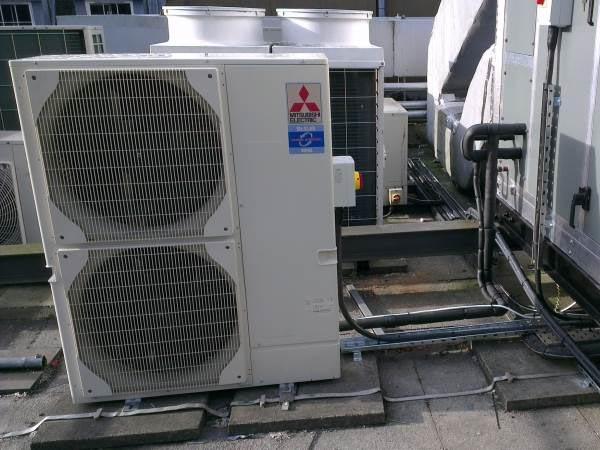AHU DX condensing unit - Re-heat