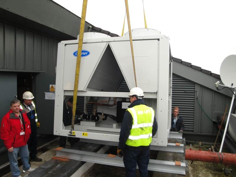Carrier 30RB0262 Air Cooled Chiller