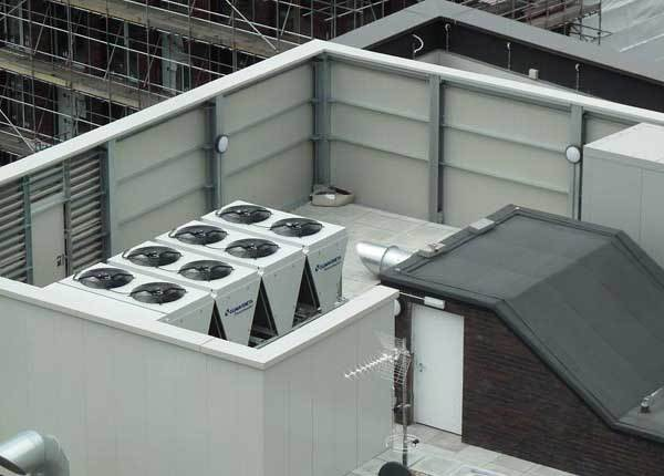 Rooftop Acoustic Screens
