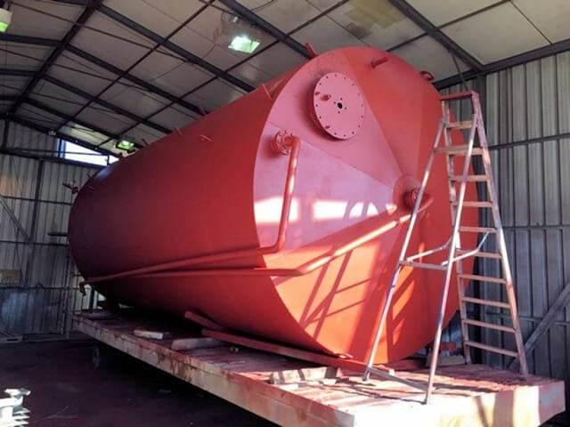 Mild Steel Storage Tank Hire