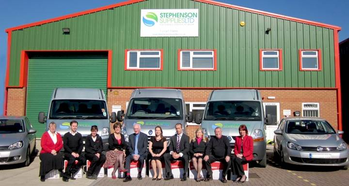 Our helpful team and Oxfordshire work premises