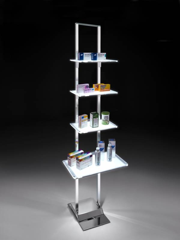 LEDMAG adds illuminated display stands to UK range
