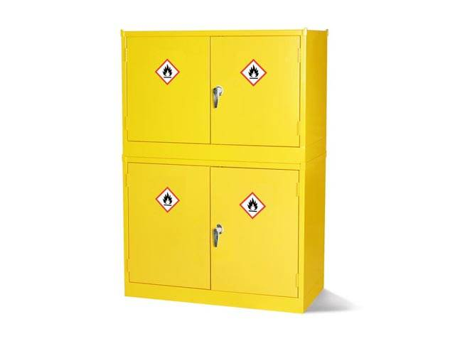 Hazardous Substance Stackable Cabinets