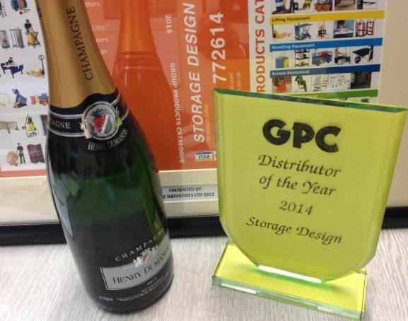 Distributor of the year award 2014