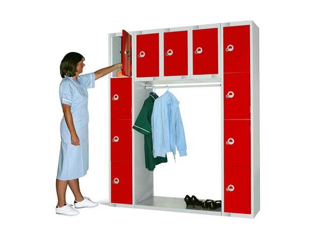 Space Saving Lockers