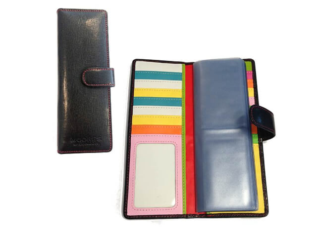 Luxury Textured Leather Business Card Holder