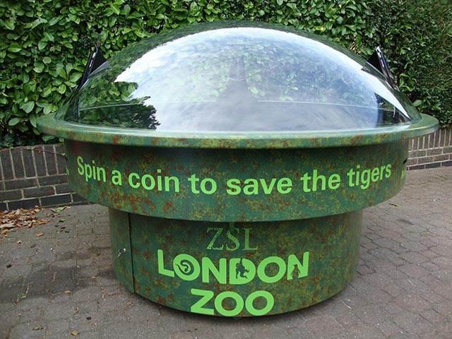 London Zoo Donation Dome