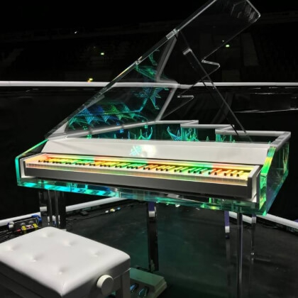Kygo Krystal Piano For 2018 World Tour