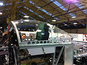 Canopy for trainer aircraft