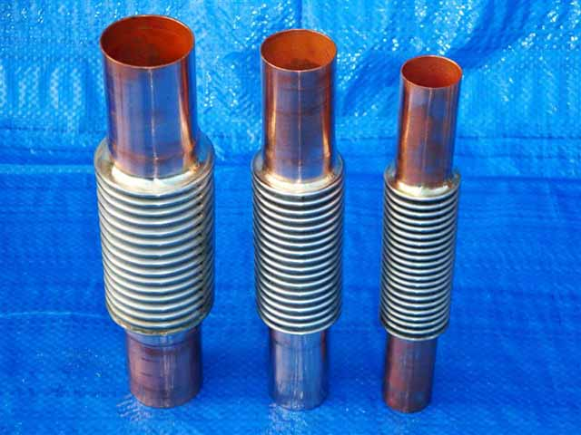 Copper Ended Expansion Joints