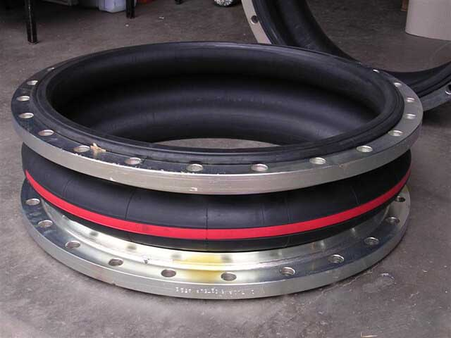Flanged Rubber Bellows