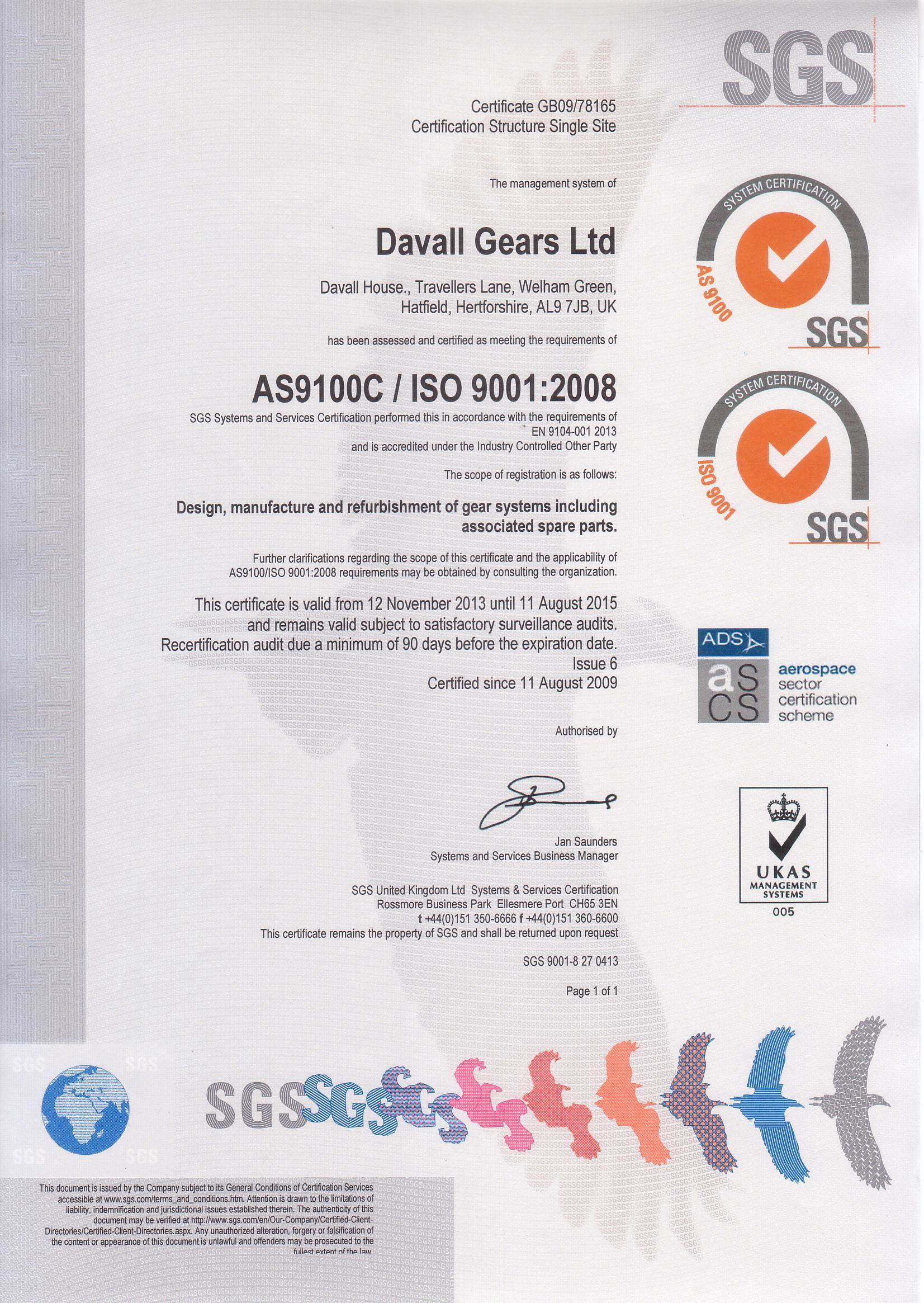 ISO 9000 Quality management systems – Fundamentals and vocabulary