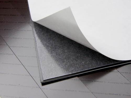 Adhesive Backed Magnetic Sheet