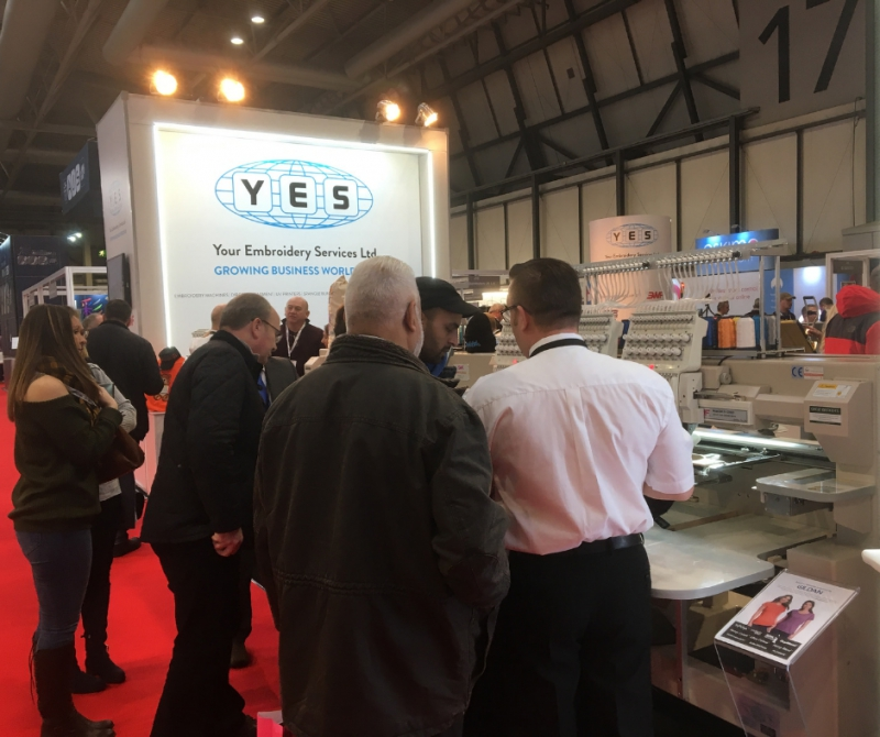 Another successful show for YES Ltd