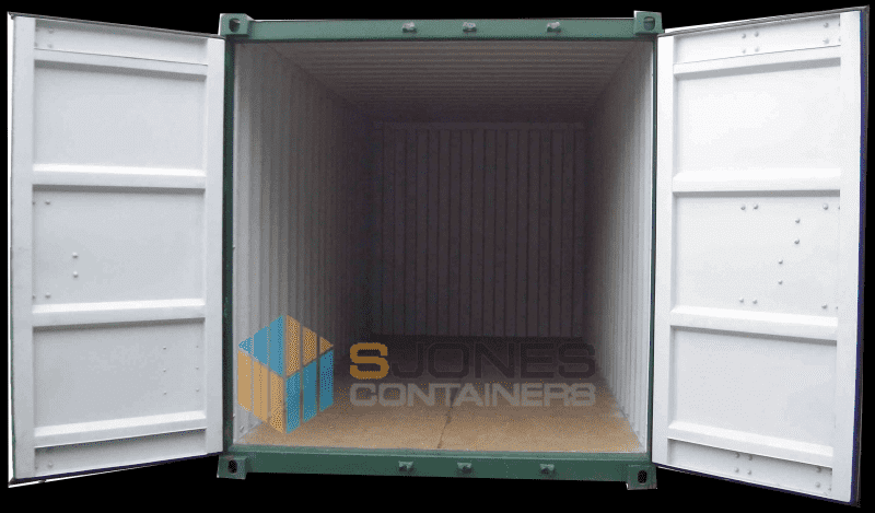 20ft Container with open doors