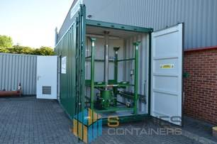 Containers Converted Into Mobile Water Treatment Plants