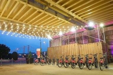 Shipping containers provide space solution