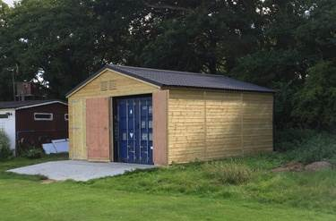 Secure storage solutions for Cricket Club