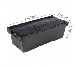 Extra Long and Strong Plastic Crates