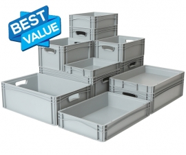Euro Stacking Containers, Large Range of Sizes