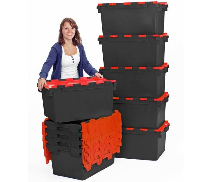 NEW! Low Cost Industrial Strength Plastic Crates