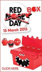 Red Nose Day (or Red Box Day)