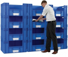Container Picking Bin Walls