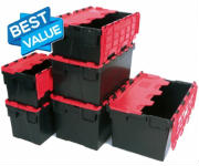 Heavy Duty Plastic Crates Strong Recycled Plastic