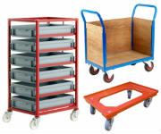 Industrial Strength Trucks and Trolleys