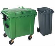 Large and Domestic Sized Wheelie Bins
