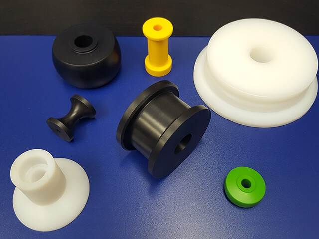 Plastic Bearings, Rollers, Pulleys