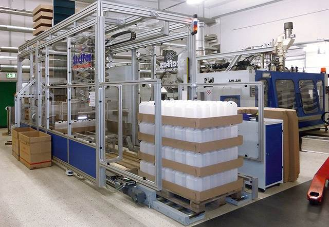 CASE STUDY - Height Adjustable Packing Machine