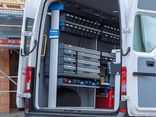 Configure Van Racking