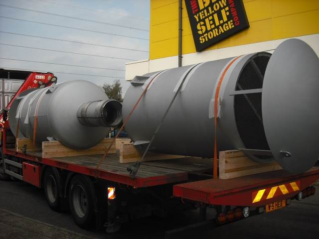 Large Flowrate Power Station Silencers