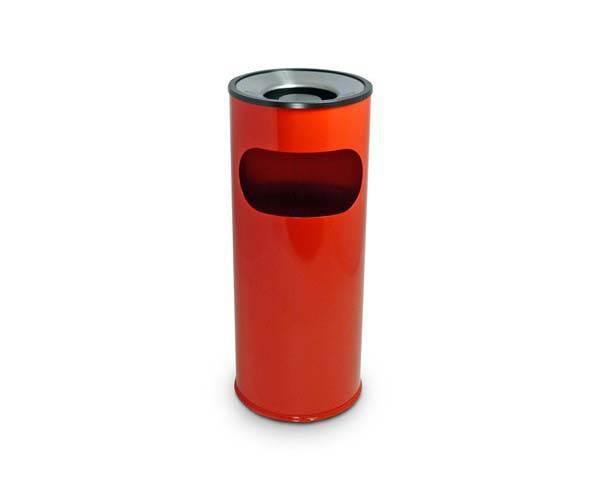 Ash Litter Bin - Red