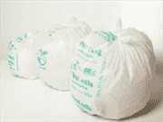 Compostable Bags in Use