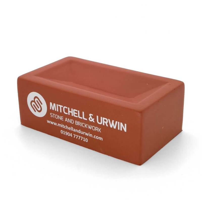 Terracotta Brick Stress Ball