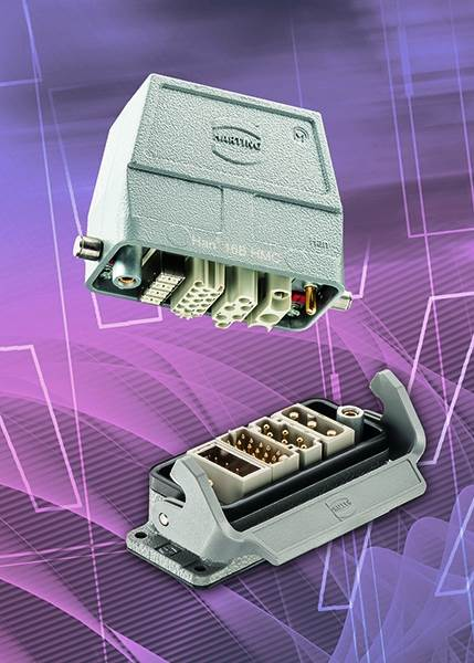 HARTING adds Gigabit interfaces with high mating cycles to Han-Modular® connecto