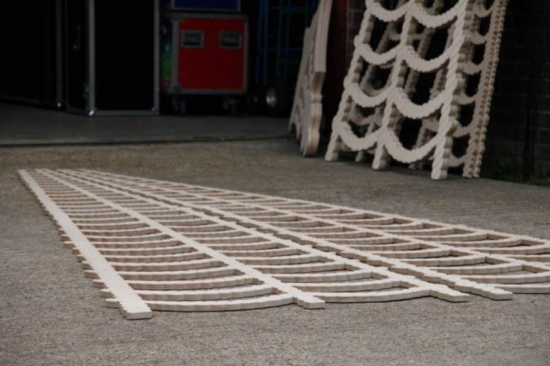 12mm Birch Ply Rope Ladders for Stage Sets